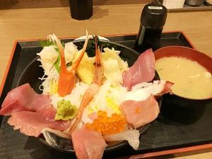魚がし食堂 漁師丼