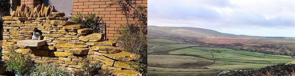 英国式「Dry Stone Walling」…関西限定施工