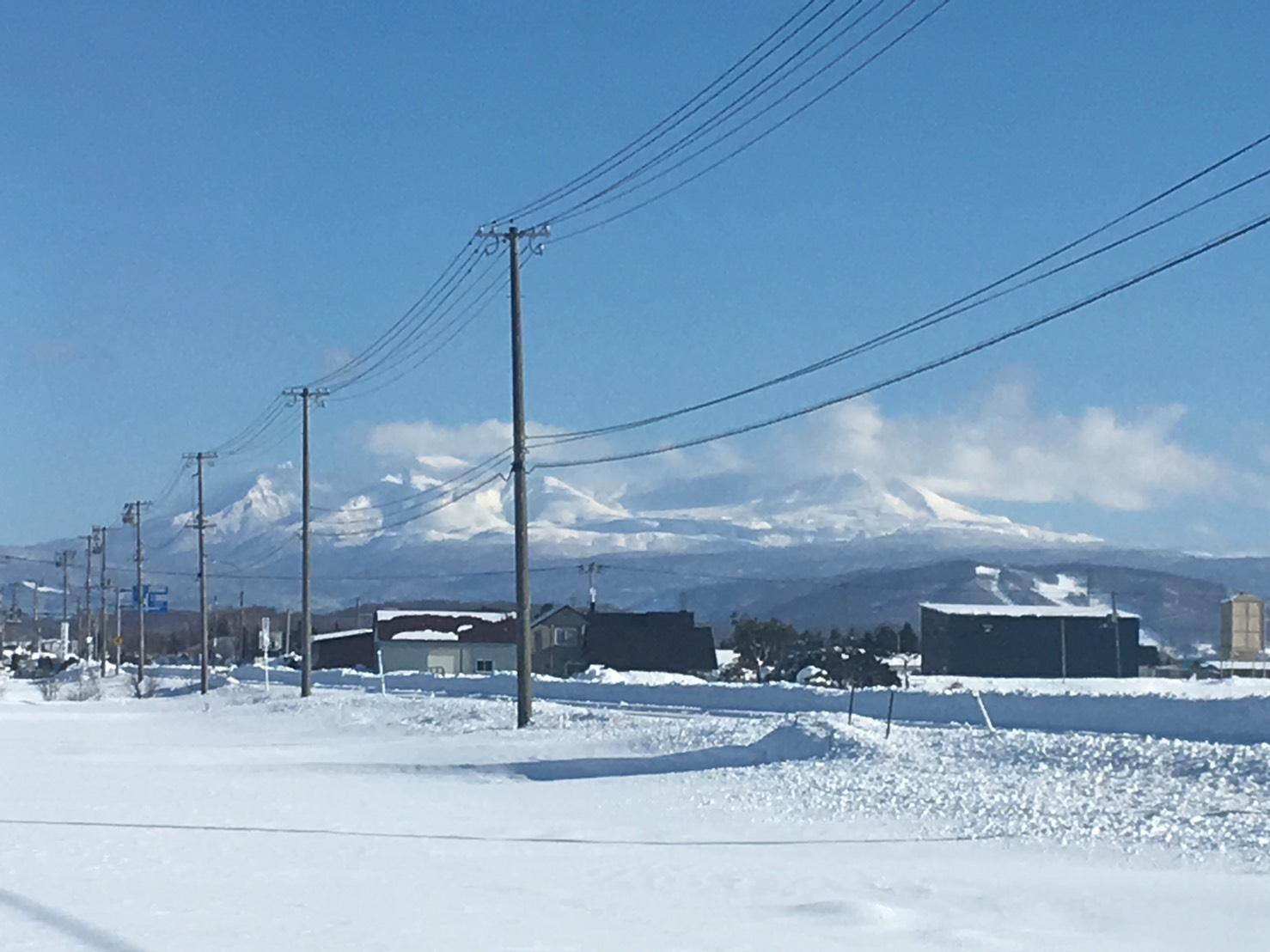 神々しい大雪山