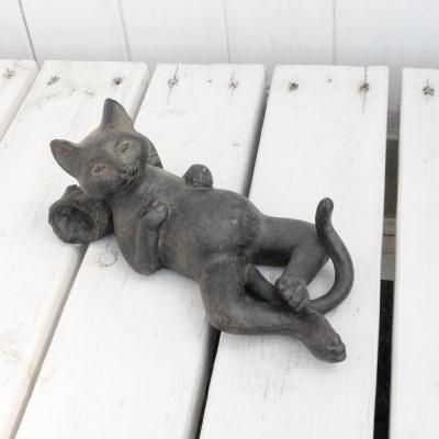 ネコのアイアンオブジェ