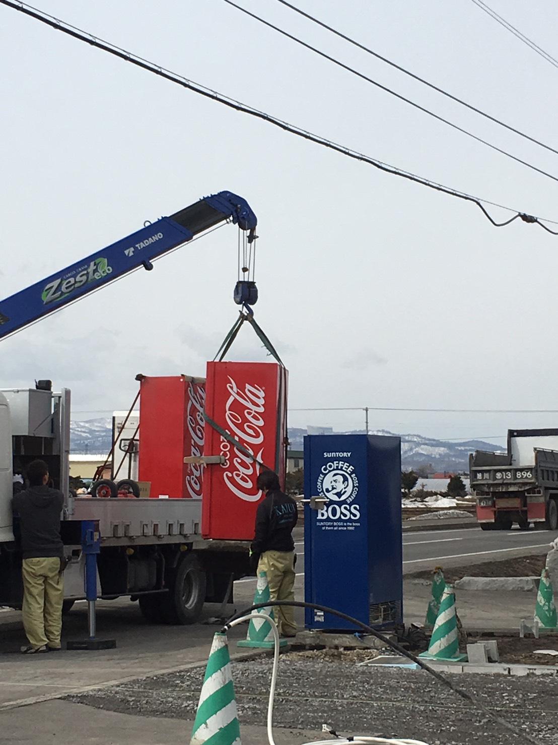 コカコーラ自動販売機