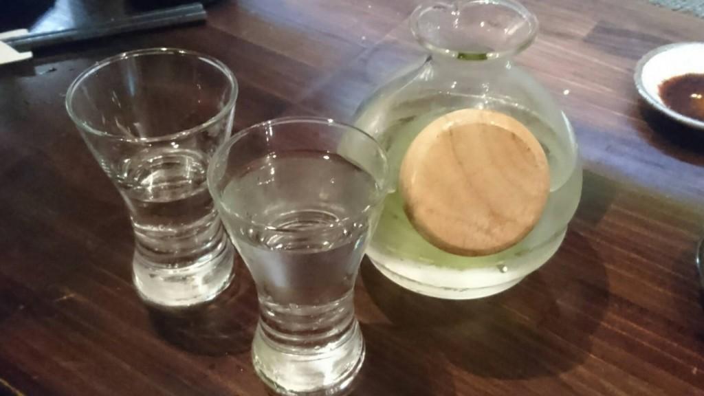 冷酒で2度目の乾杯