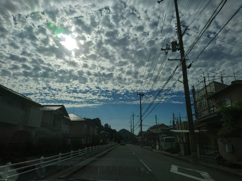 近江富士を眺め