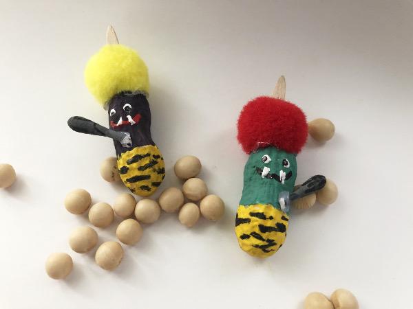 ピーナッツ人形 節分の鬼