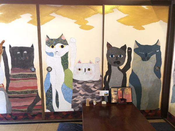 加悦雅乃さんの襖絵