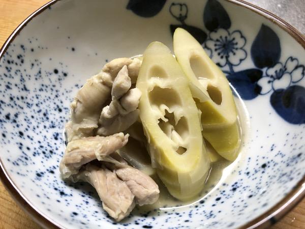 淡竹の煮物