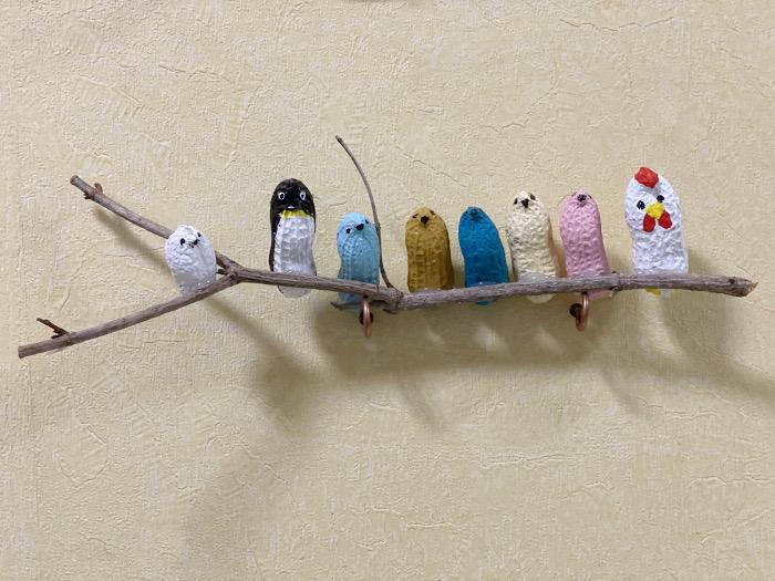 ピーナッツ人形 小鳥