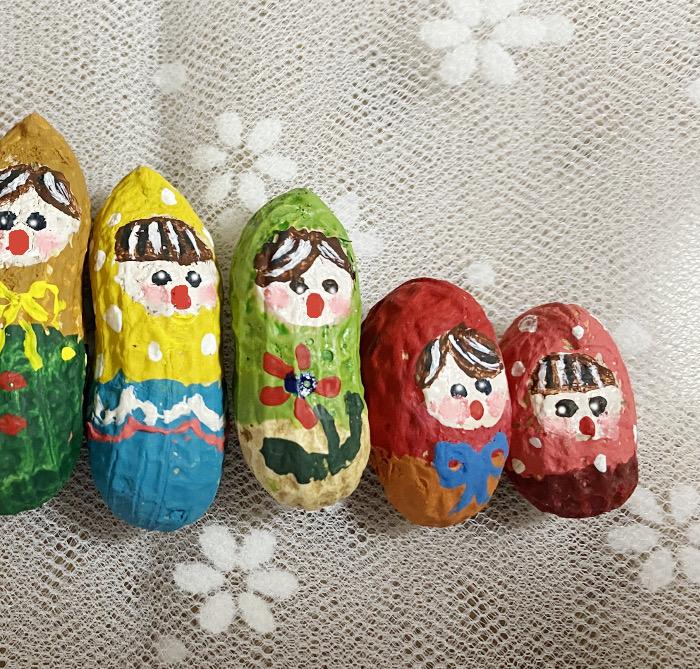 ピーナッツ人形 マトリョーシカ