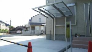 水戸市O様邸サイクルポート