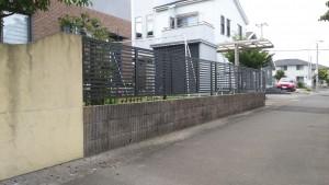 フェンス設置01
