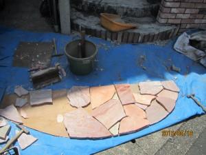 石の割り出し加工