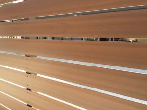 木質樹脂フェンス