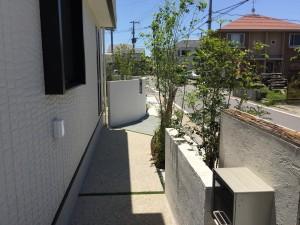 雑木の小路