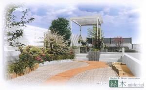 野崎様邸ガーデンプラン