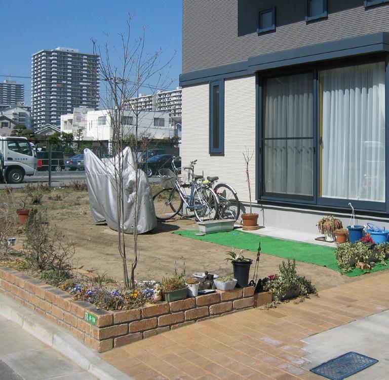 ガーデンリフォーム つるバラの提案1 Before