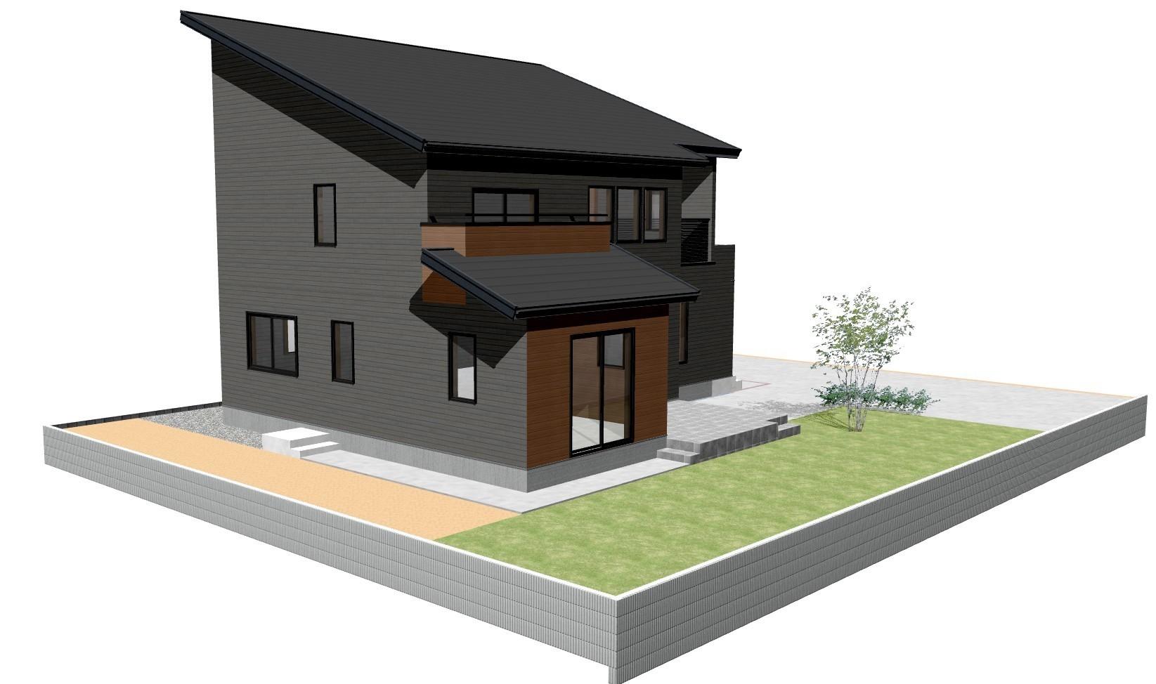 鉾田市 S様邸 新築外構②
