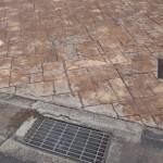 スタンプコンクリート 経年変化