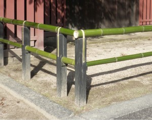 竹垣造り広島