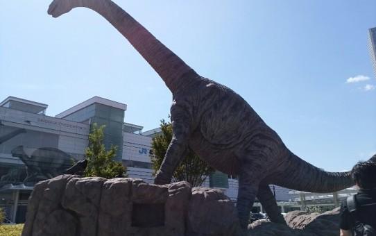 福井駅前・恐竜モニュメント 4