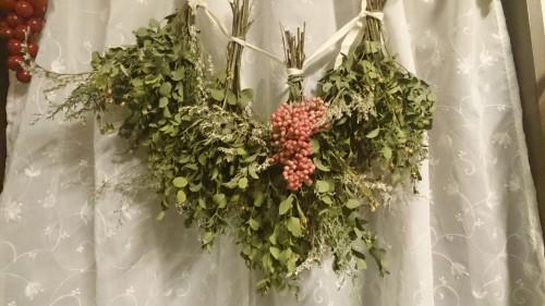 姪の結婚披露宴の花