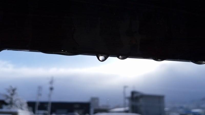 キラキラ水滴