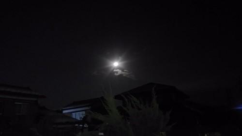 スーパー・ブルー・ブラットムーンの後の月