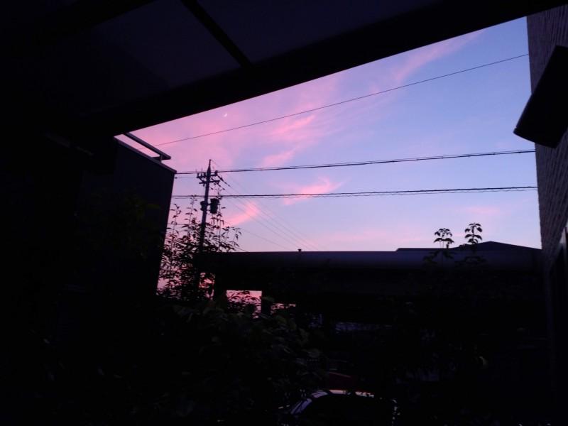 2018年7月16日 夕焼け