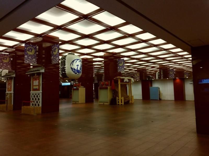 歌舞伎座の切符売り場