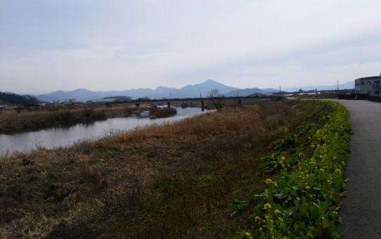 福井県鯖江市 日野川