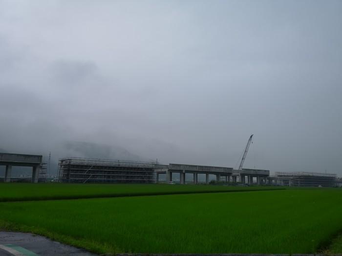 北陸新幹線工事現場