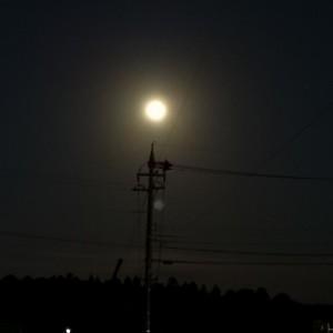 満月 ウルフムーン