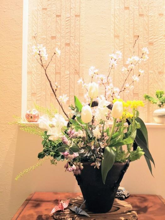 啓翁桜/菜の花/チューリップ/スイトピー/