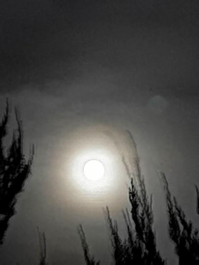 2020年9月2日 満月 Harvest Moon(収穫月)