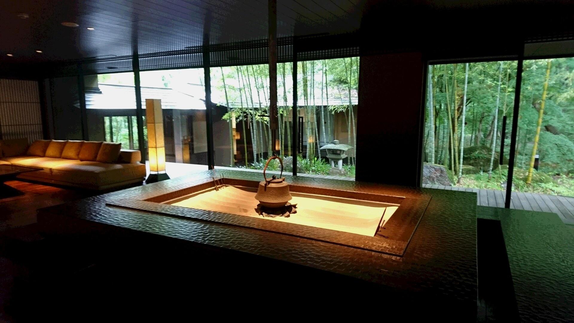 竹泉荘 囲炉裏