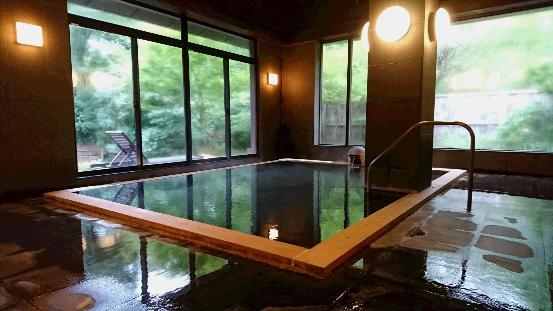 竹泉荘 大浴場