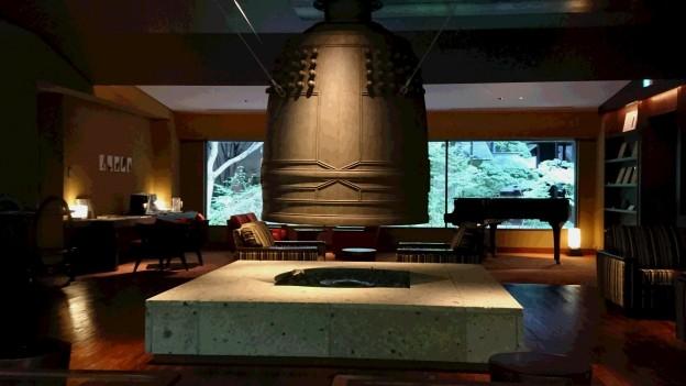 竹泉荘 鐘