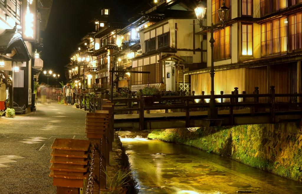 銀山温泉の夜