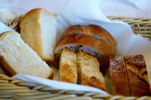 Hotels homemade bread
